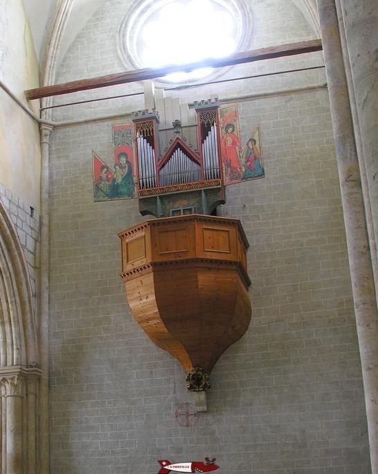 Le fameux orgue dans la basilique de Valère