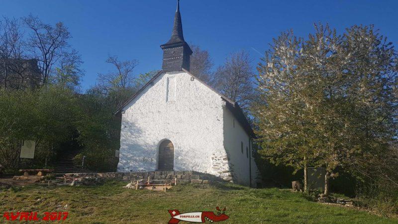 la chapelle Saint-Théodule - île et château d'Ogoz