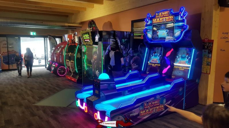 Les jeux d'arcade de Bowland Martigny