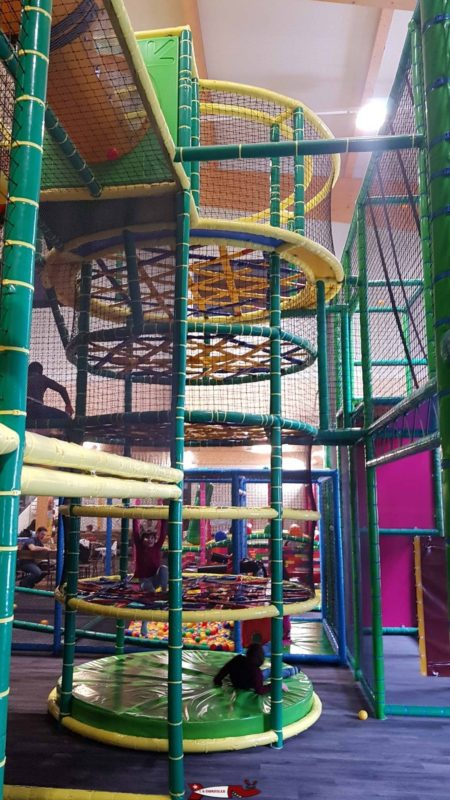 une structure à escalader au bowland martigny