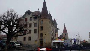 le château d'Avenches