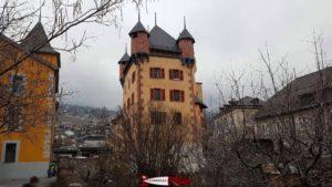 le château des Vidomnes à Sierre