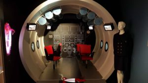 Un sous-marin touristique dans l'espace Piccard au musée du léman à nyon