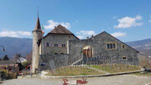 le château de Boudry