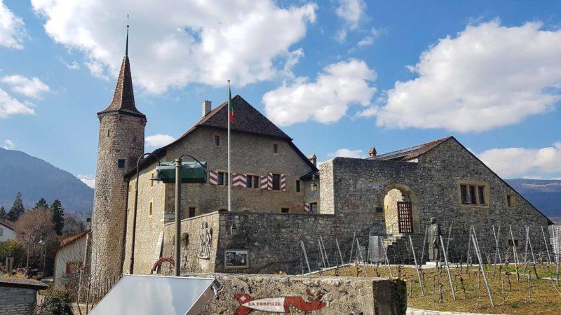 Le château de Boudry.