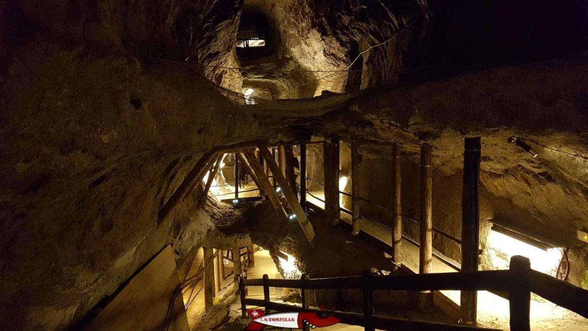 Les mines de Sel de Bex près d'Aigle. Une magnifique visite dans la montagne pour comprendre l'histoire de l'extraction du sel.