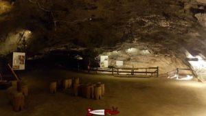 Salle des Fondateurs. - mines de sel de Bex