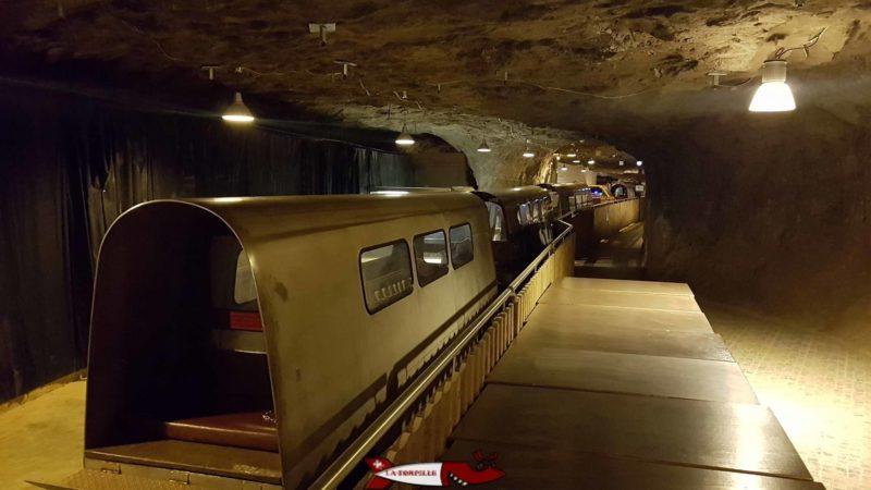 Gare du restaurent. - mines de sel de Bex