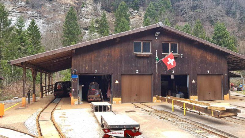 Gare extérieur - mines de sel de Bex