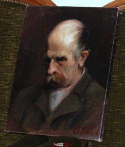 Un portrait de Joseph-Samuel Farinet- Il donne son nom à la passerelle à Farinet