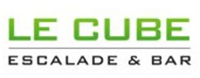 logo salle de grimpe du Cube à Bussigny