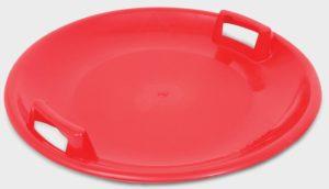 Assiette ronde pour glisser sur la neige.