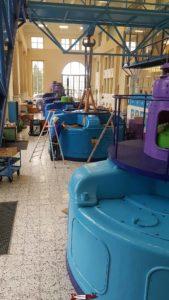 La salle des turbines à electrobroc