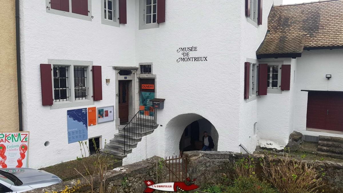 L'entrée du musée de Montreux dans une ancienne maison vigneronne.