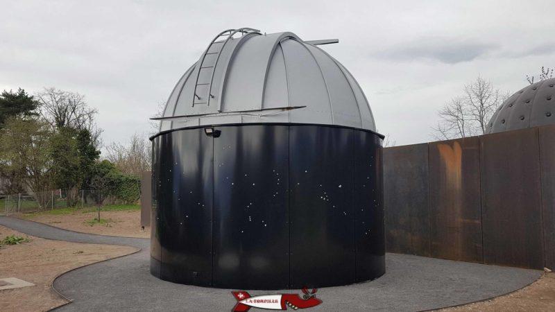 le dome de l'observatoire de Vevey