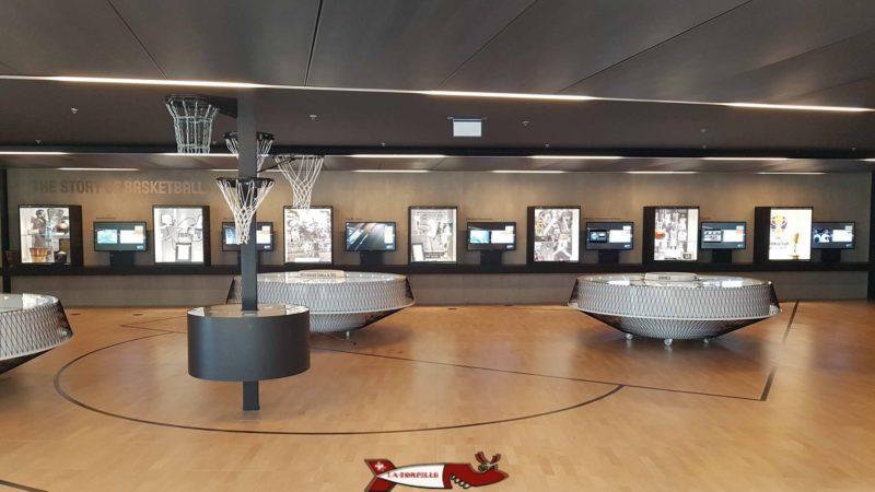 une musée du musée du basket