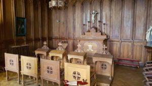 La chapelle du château de Coppet au musée du château de Coppet