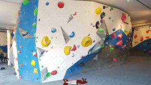 the central block at totem climbing versoix