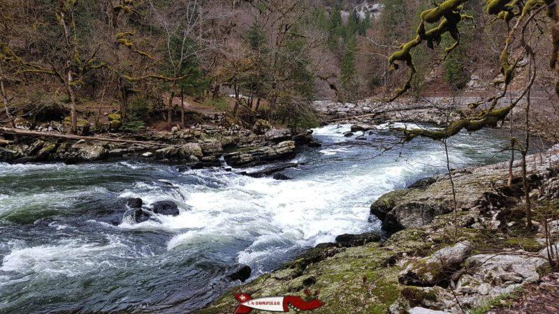 La rivière avant le saut du Doubs