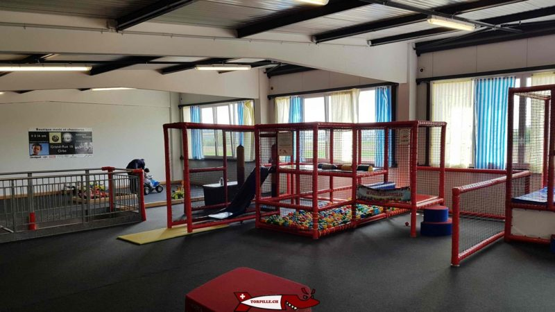 Baby play structures on the first floor. urba kids