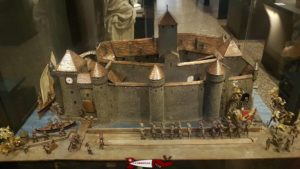 animated model of the Chillon castle