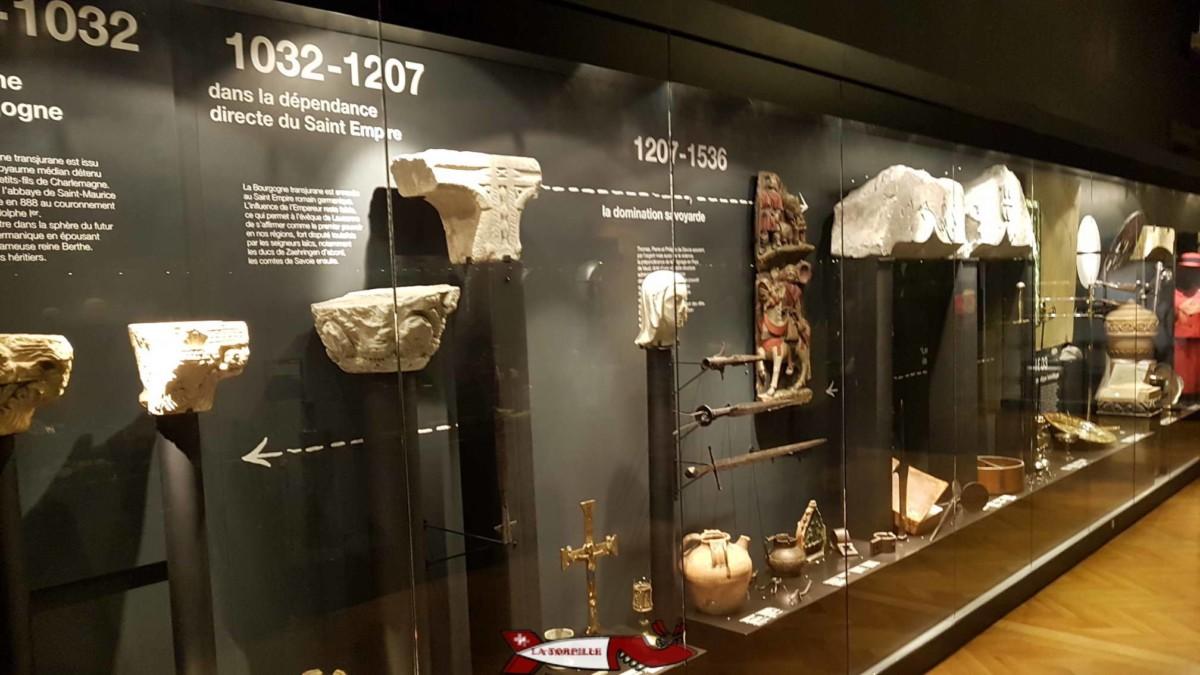 Le musée Cantonal d'Archéologie et d'Histoire de Lausanne.
