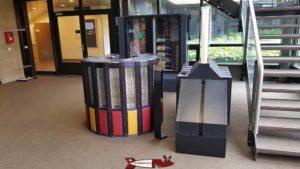 Un ancien super-calculateur, le Cray 2 pesant deux tonnes au musée Bolo