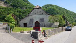 Le bâtiment hébergeant le musée suisse de l'orgue