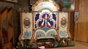 Un orgue de barbarie au musée suisse de l'orgue