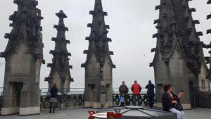 le sommet de la tour de la cathedrale de fribourg