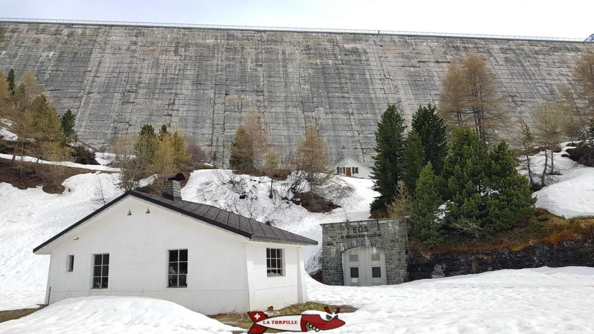 Le barrage de Cleuson.