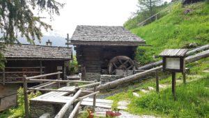 Moulins de St-Luc - hydroélectricité en Suisse Romande