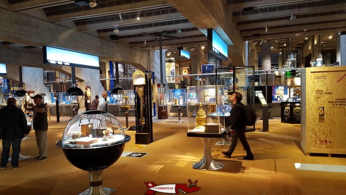 La ville de La Chaux-de-Fonds est un des hauts lieux de l'horlogerie avec le musée international de l'horlogerie.