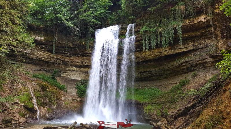 Les gorges du Nozon font partie des plus belles gorges de Suisse Romande