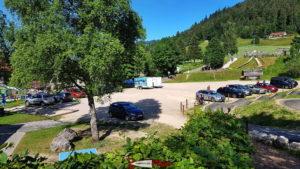 Parking piste de luge de La Robella et parc de loisirs de la Robella
