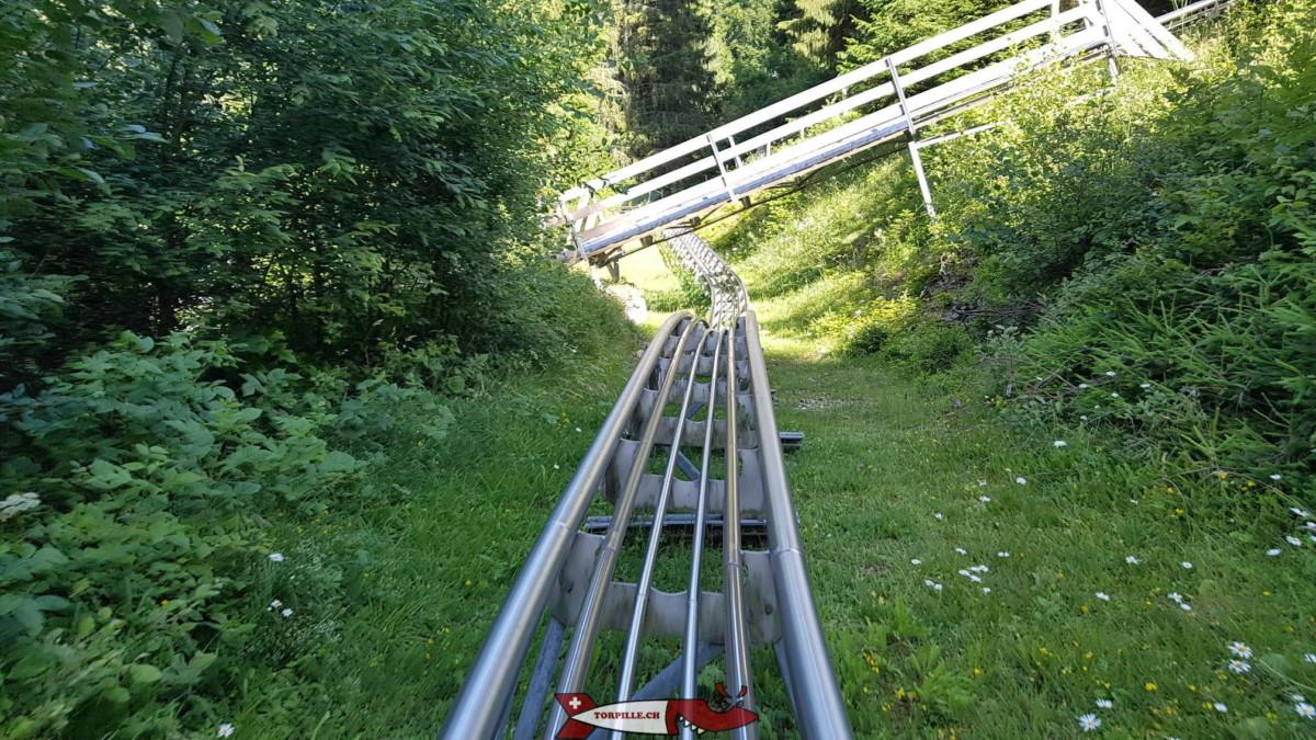 piste de luge d'été sur rail