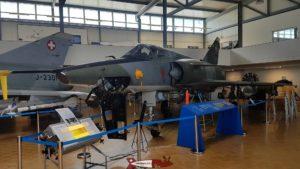 Mirage IIIRS au Musée de l'Aviation Militaire de Payerne Clin D'Ailes