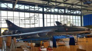 Hawker Hunter MK 58 au Musée de l'Aviation Militaire de Payerne Clin D'Ailes