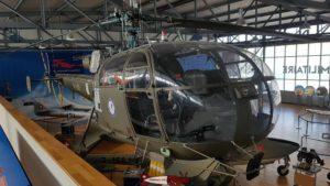 Alouette III au Musée de l'Aviation Militaire de Payerne Clin D'Ailes