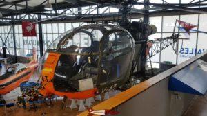 Alouette II au Musée de l'Aviation Militaire de Payerne Clin D'Ailes