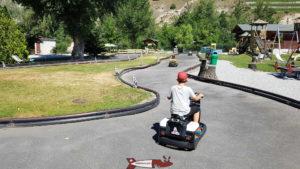 Circuit de voitures et motos happyland