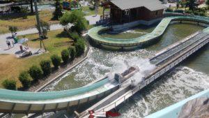 Splash River Circuit avec des bûches  happyland
