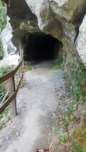 Le tunnel des gorges de la Vièze