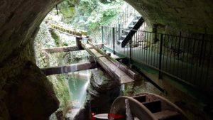 Les moulins du gor du Vauseyon en bas des gorges du seyon