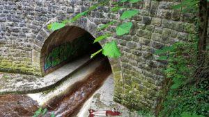 Canalisation du Seyon en bas des gorges du Seyon