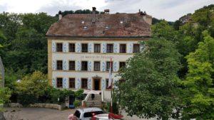 La maison du prussien en bas des gorges du Seyon