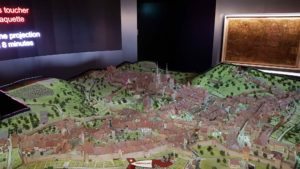 model at the historical museum of lausanne