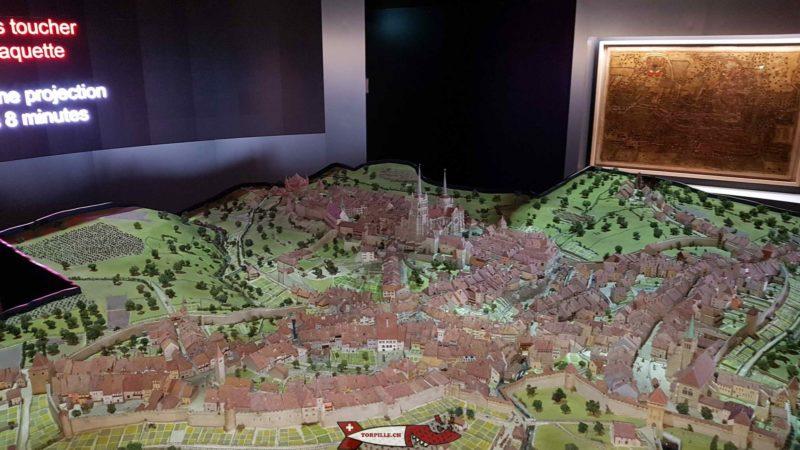 maquette au musée historique de lausanne