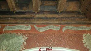 """Une """"plaquette"""" en mémoire de la venue de Charles le Téméraire à l'Ancien Évêché en 1476."""