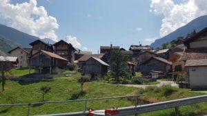 le pittoresque village d'Euseigne